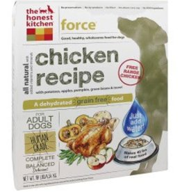 The Honest Kitchen Grain Free Force 4lbs