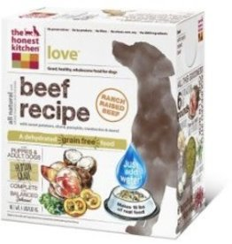 The Honest Kitchen Grain Free Love Beef Recipe 4 lbs