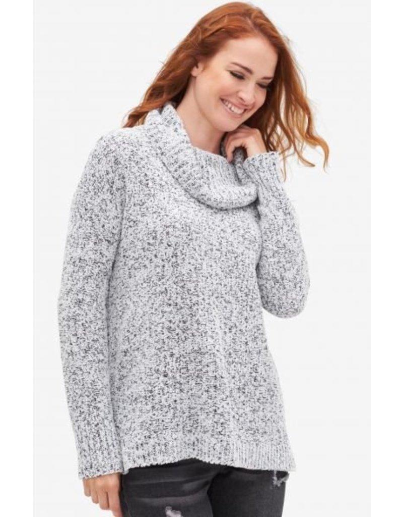 Tribal Women`s L/S Cowl Neck Sweater - FA18
