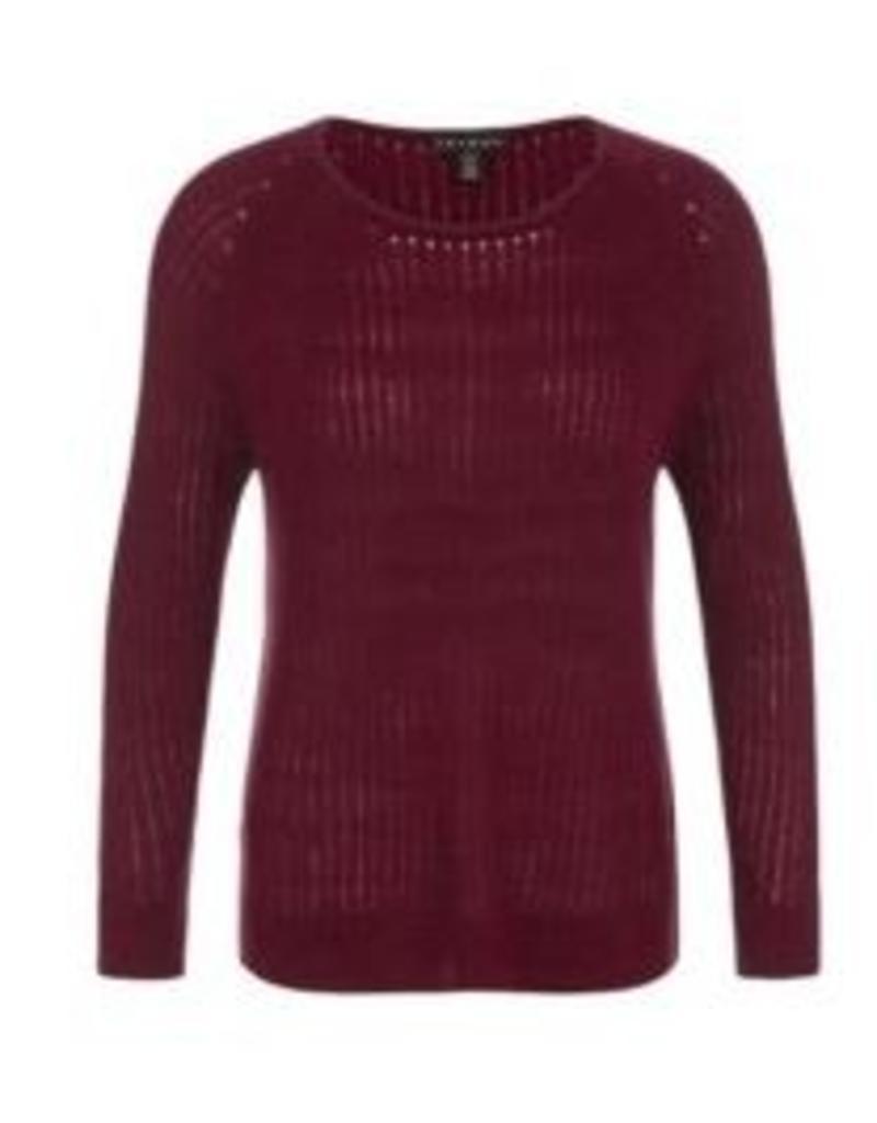 Tribal High-Low Sweater L/S - FA18