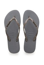 Havaianas Women's Slim Logo Metallic  - SP19