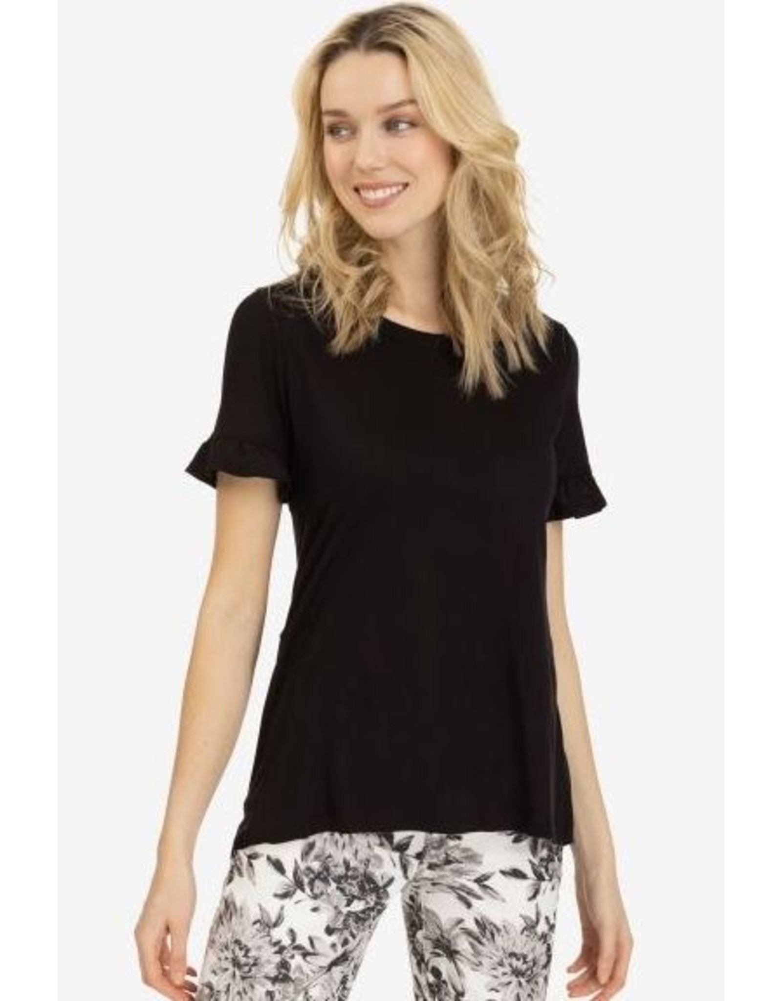 Tribal Women's SS Top with Frill