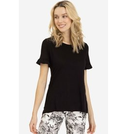 Tribal Women's SS Top with Frill - SP19