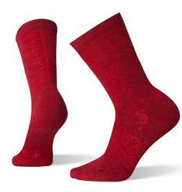 Smartwool Women's Poinsettia Graphic Crew Medium - 19AF