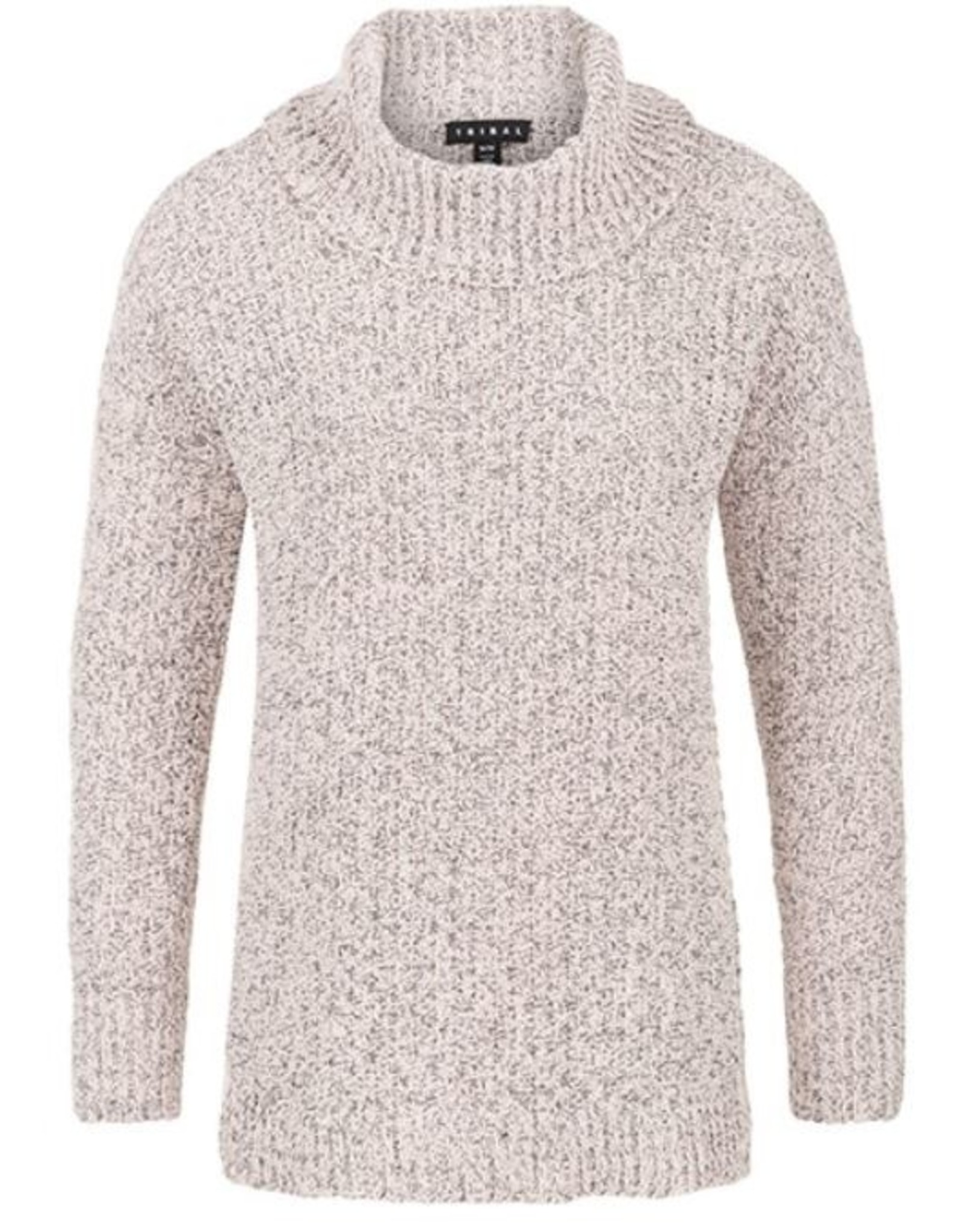 Tribal L/S Cowl Nk Sweater - 91af