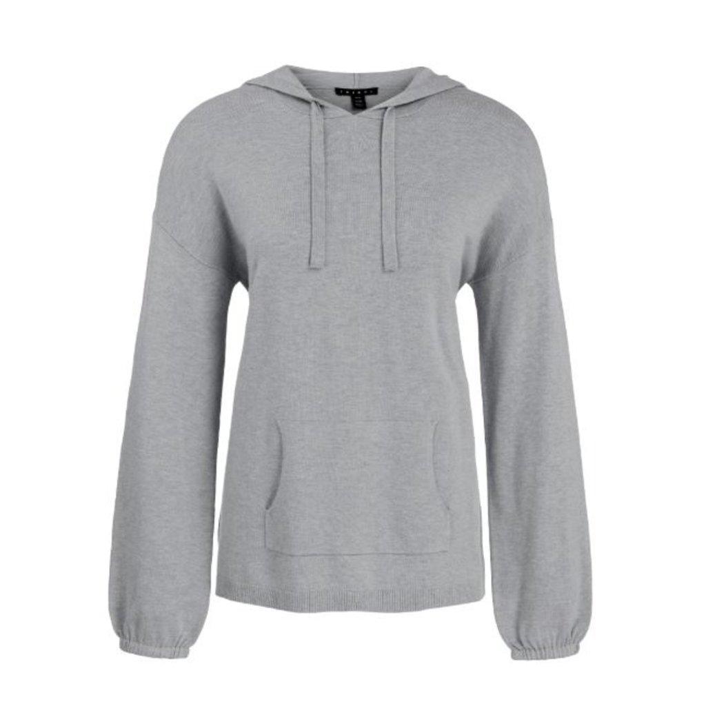 Tribal L/S Hoodie Sweater - 91af