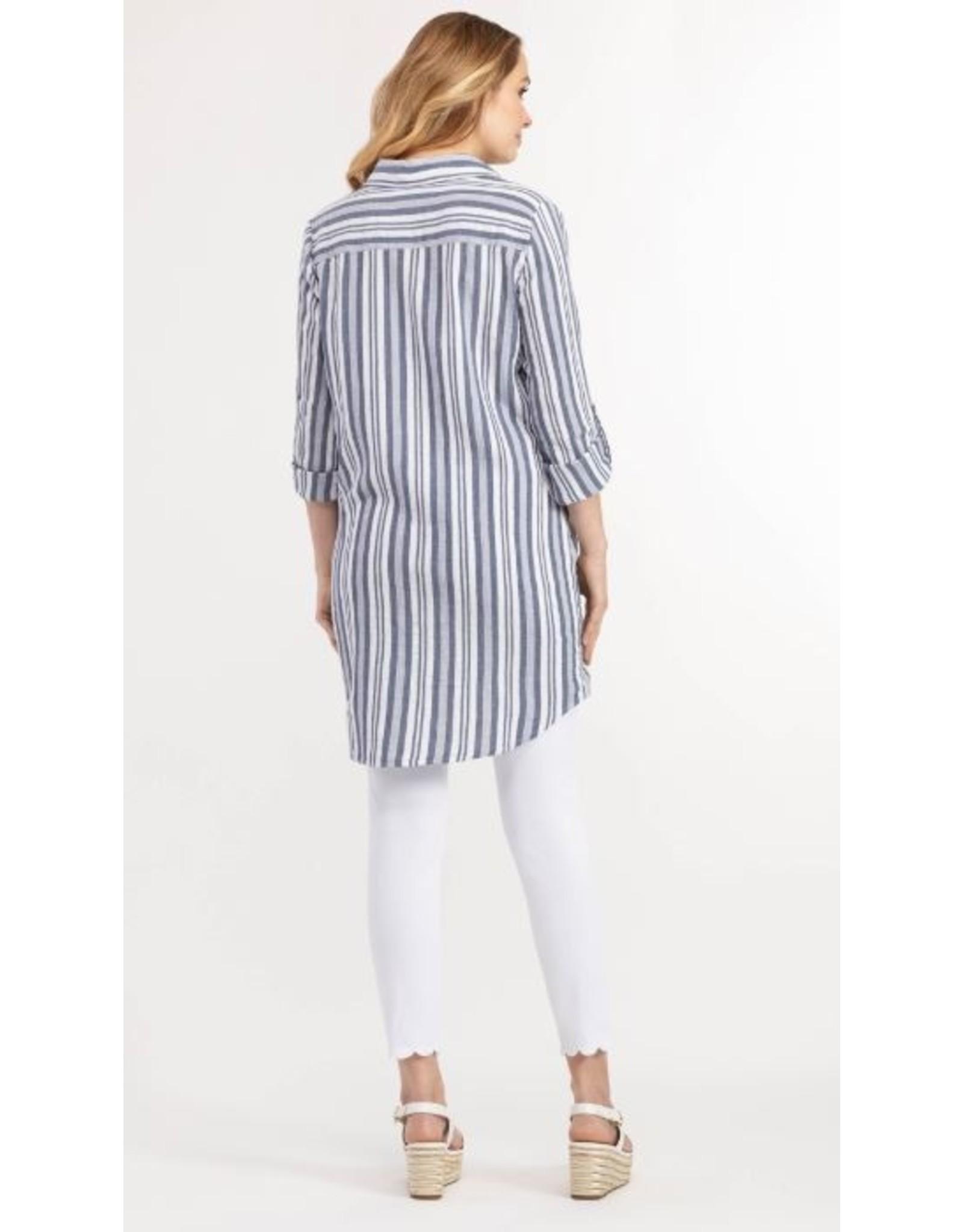Tribal Cotton Shirt Dress - 20ps