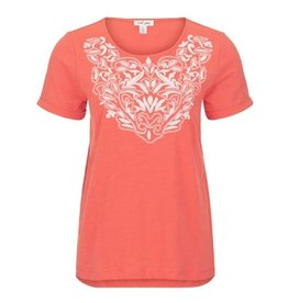 Tribal S/S Embroidered Top - 20ps