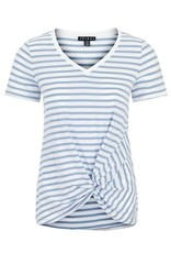 Tribal S/S V Neck with Knot