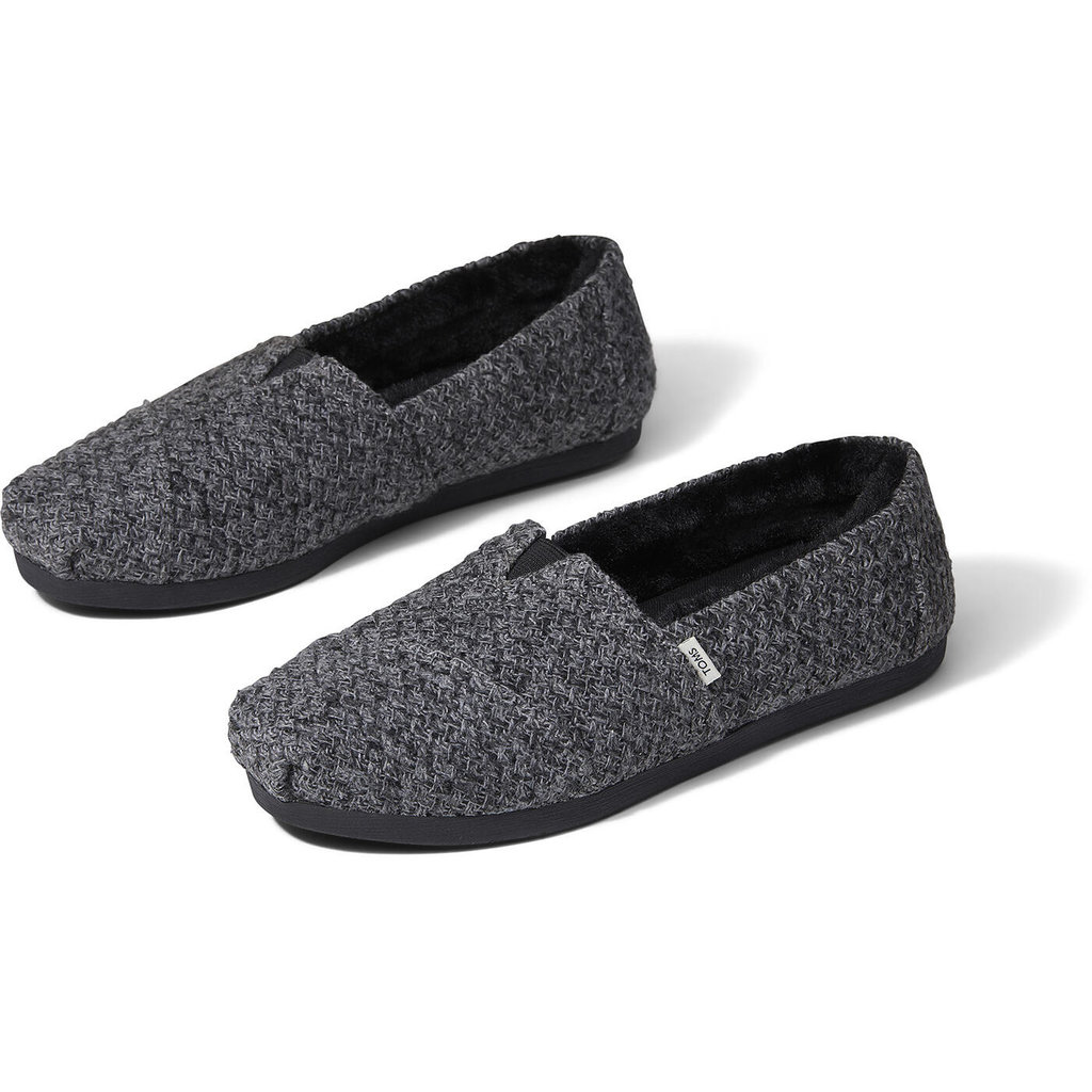 TOMS Women's Heathered Knit Faux Fur Lining