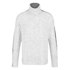 Tribal L/S Turtle Neck Colour Block Sweater
