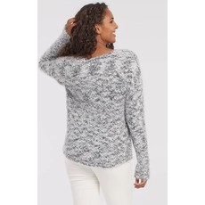 Tribal L/S Boat Neck Sweater
