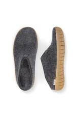 Glerups Glerup Felt Slipper with Rubber Sole