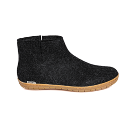 Glerups Glerup Felt Low Boot w Rubber Bottom