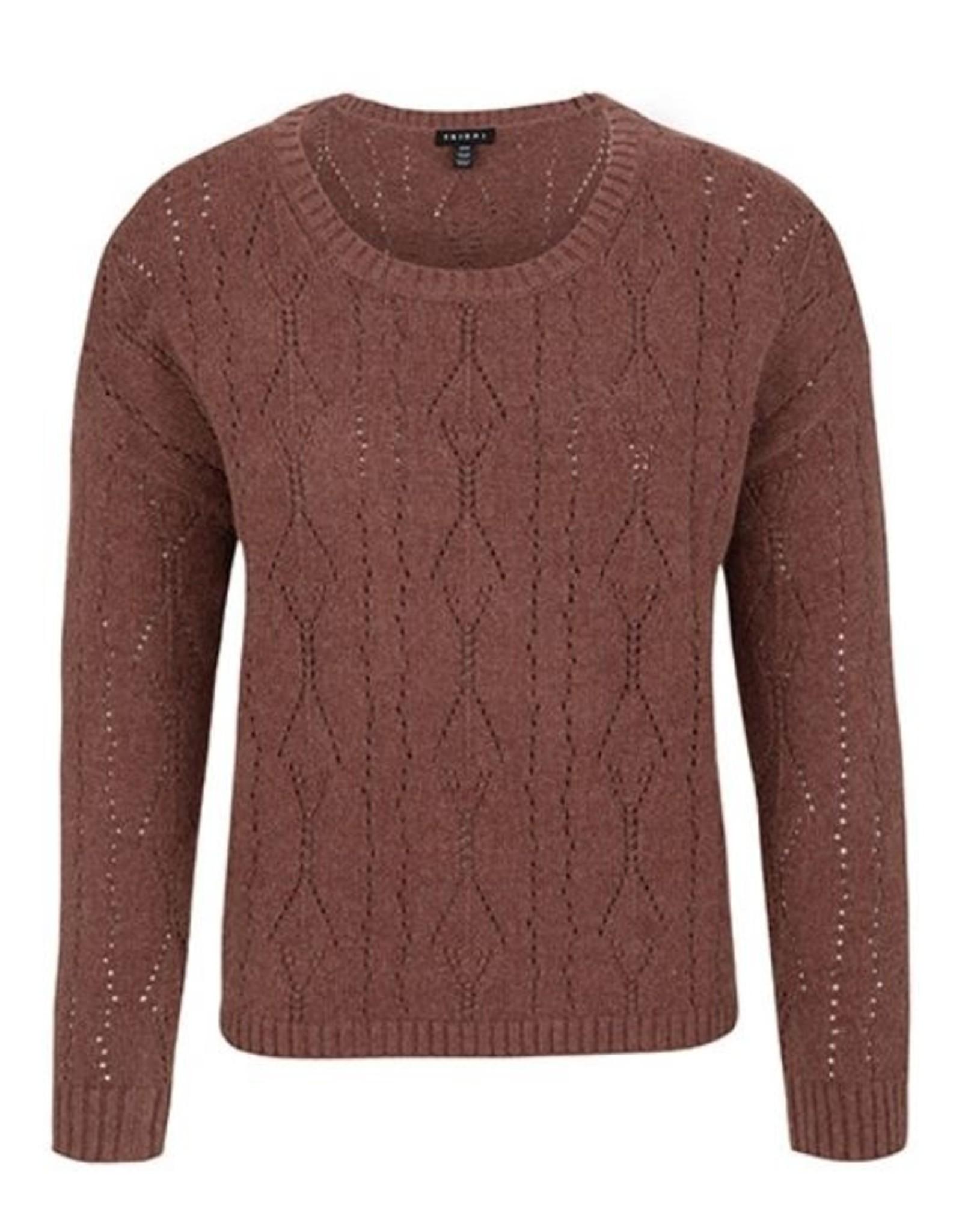 Tribal L/S Pointelle Sweater