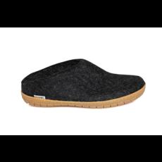 Glerups Glerup Wool Felt Open Heel - Rubber Sole