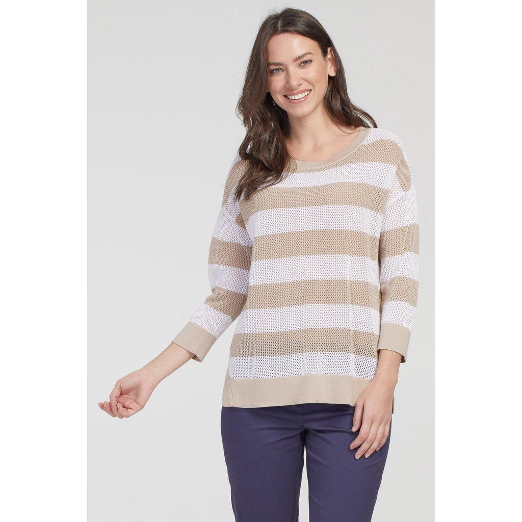 Tribal 3/4 Sleeve Sweater
