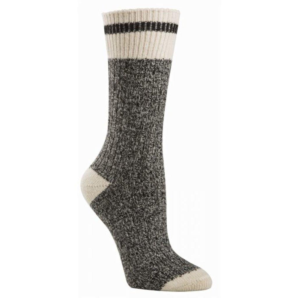 McGregor Socks Men's Weekender Wool Work Sock -  Black