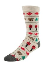 McGregor Socks Men's Canadiana  - Steam