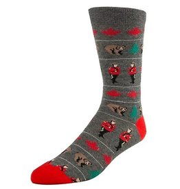 McGregor Socks Men's Canadiana  - Charcoal