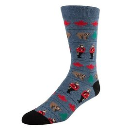 McGregor Socks Men's Canadiana  - Denim