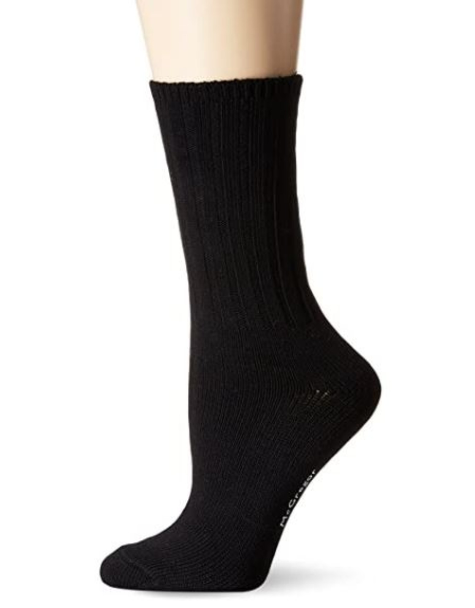 McGregor Socks Women's Weekender Cotton Sock - Black