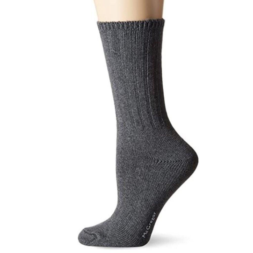 McGregor Socks Women's Weekender Cotton Sock - Charcoal Heather
