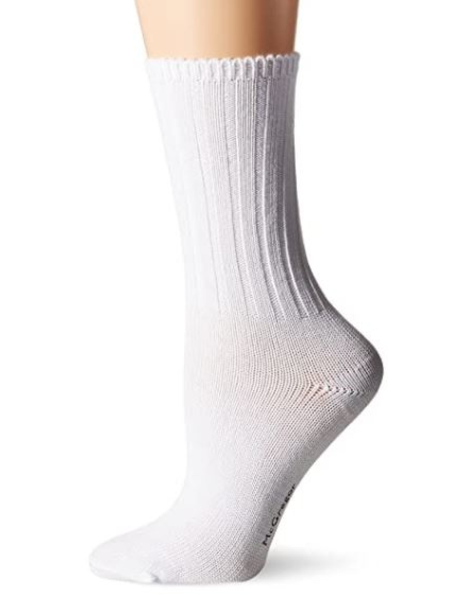 McGregor Socks Women's Weekender Cotton Sock - White
