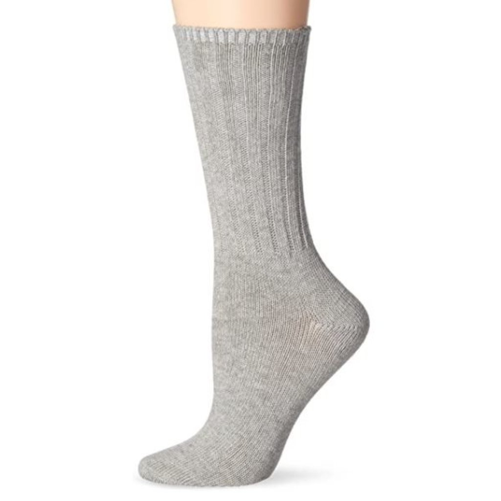 McGregor Socks Women's Weekender Wool  Sock - Heather Grey