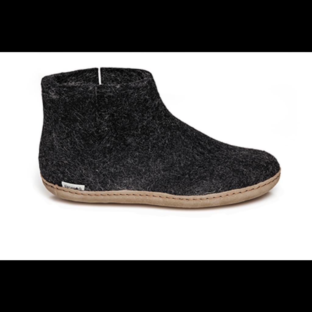 Glerups Glerup Felt Shoe Leather Bottom