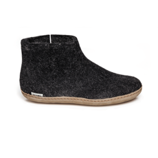 Glerups Glerup Felt Shoe Leather Bottom