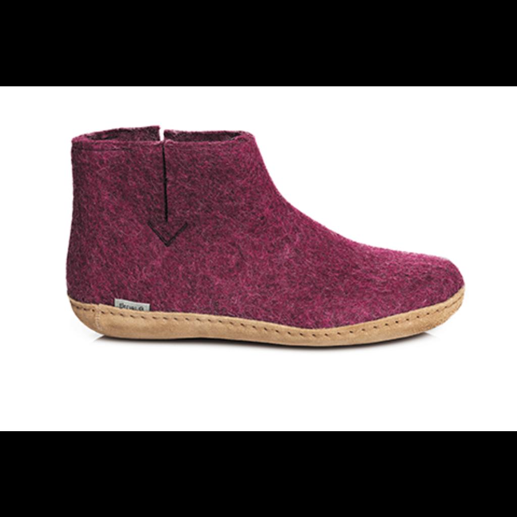Glerups Glerup Wool Felt Boot - Leather Bottom