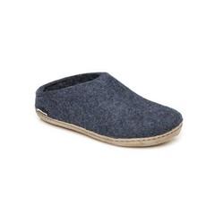 Glerups Glerup Wool Felt Open Heel -Leather Sole