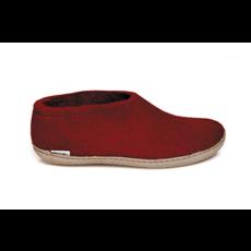 Glerups Glerup Wool Felt Shoe - Leather Bottom