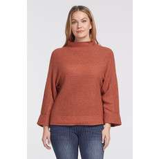 Tribal L/S Funnel Neck Sweater