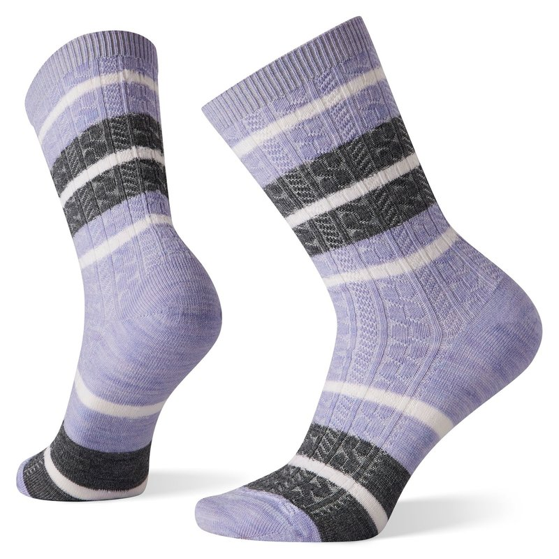 Smartwool Women's Striped Cable Crew
