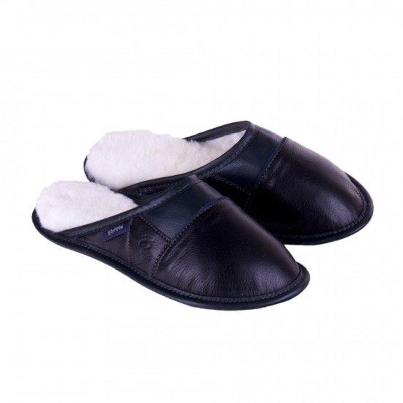 Garneau Women's Ladies Leather Slip On Garneau Slippers