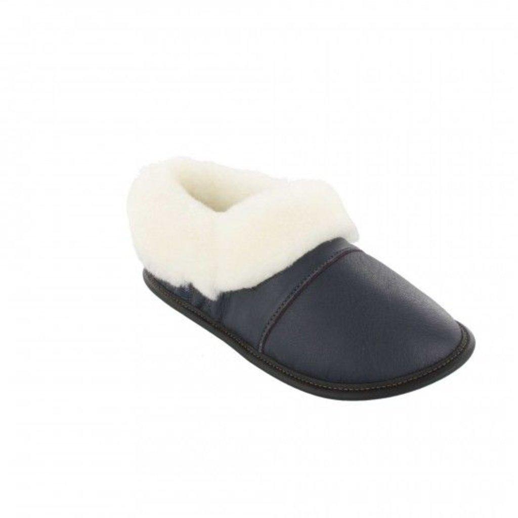 Garneau Women's Ladies Leather Low Cut Slippers