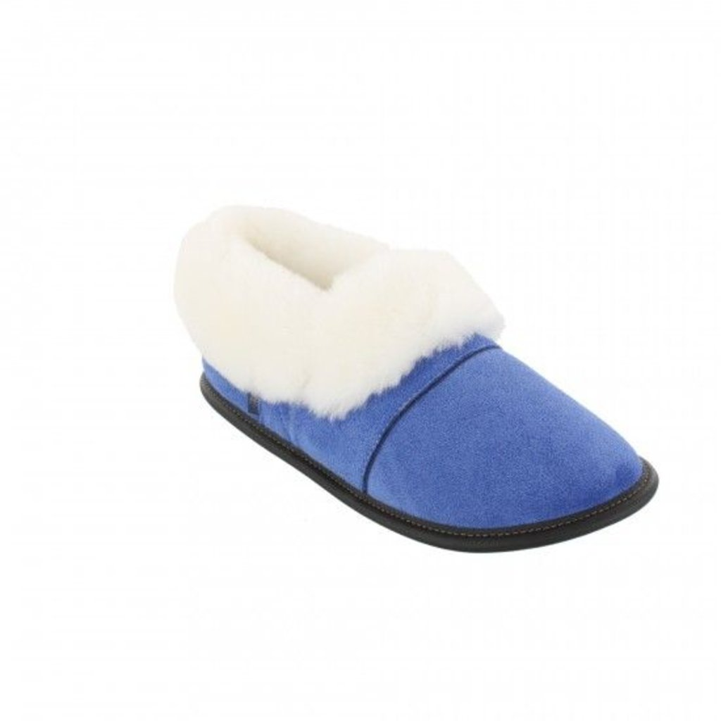 Garneau Women's Suede Low Cut Slippers - More Colours Available