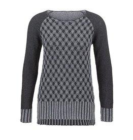 Tribal Women's L/S Reversible Sweater Fa17