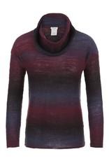 Tribal Women's L/S Space Dye Sweater Fa17