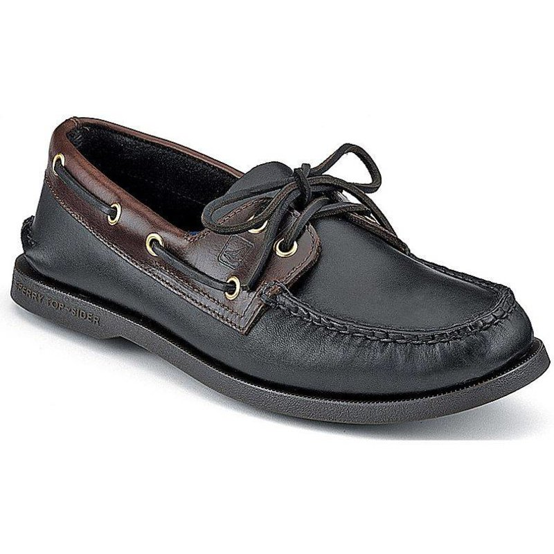 Sperry Top Siders Men's A/O Black Amaretto
