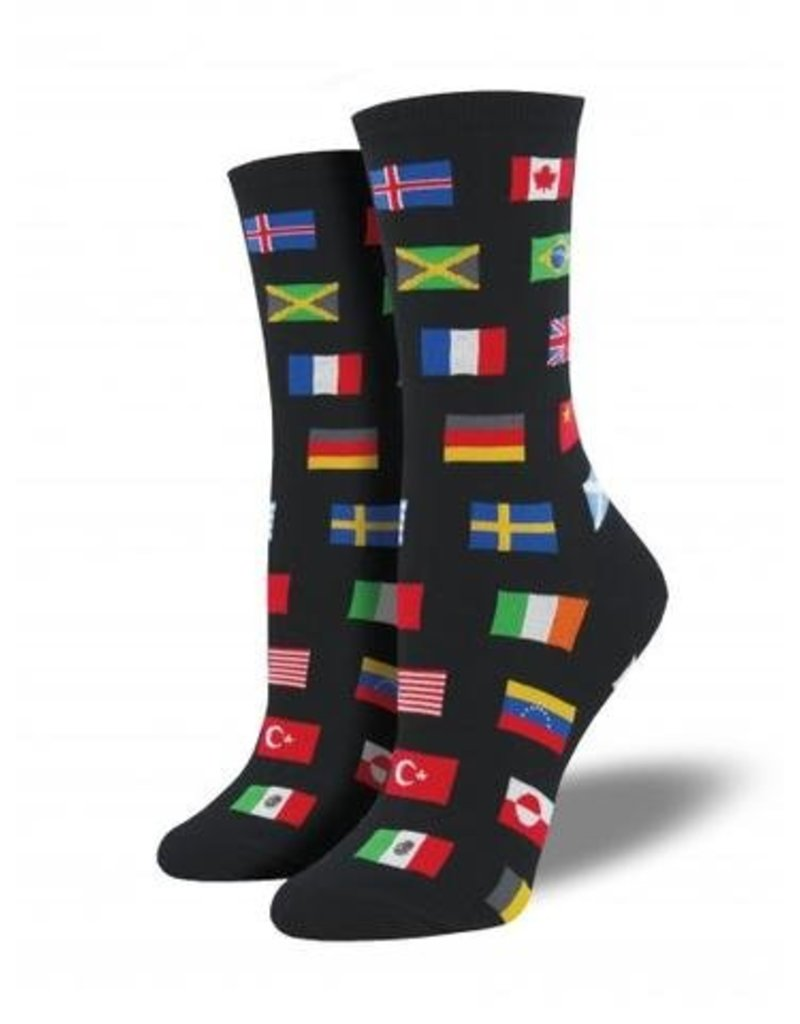 Socksmith Women's Flags of the World - SP18
