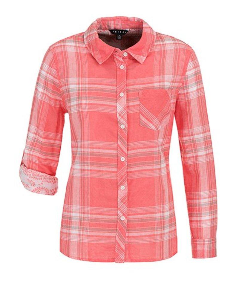 Tribal Roll Up Sleeve Shirt - SP18