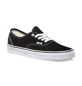 Vans Men's Authentic Black on White - FA18