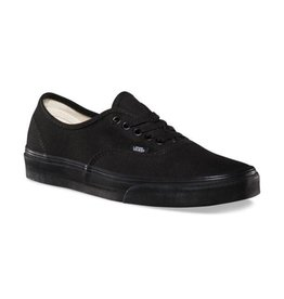 Vans Women's Authentic Black on Black - FA18
