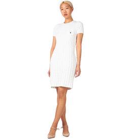 Polo Ralph Lauren RALPH LAUREN CABLE KNIT SWEATER DRESS