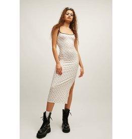New Girl Order New Girl Order Ditsy Rib Maxi Dress