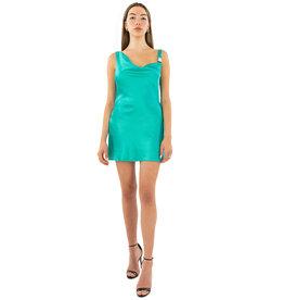 Danielle Guizio DANIELLE GUIZIO HOOK CLOSURE DRESS