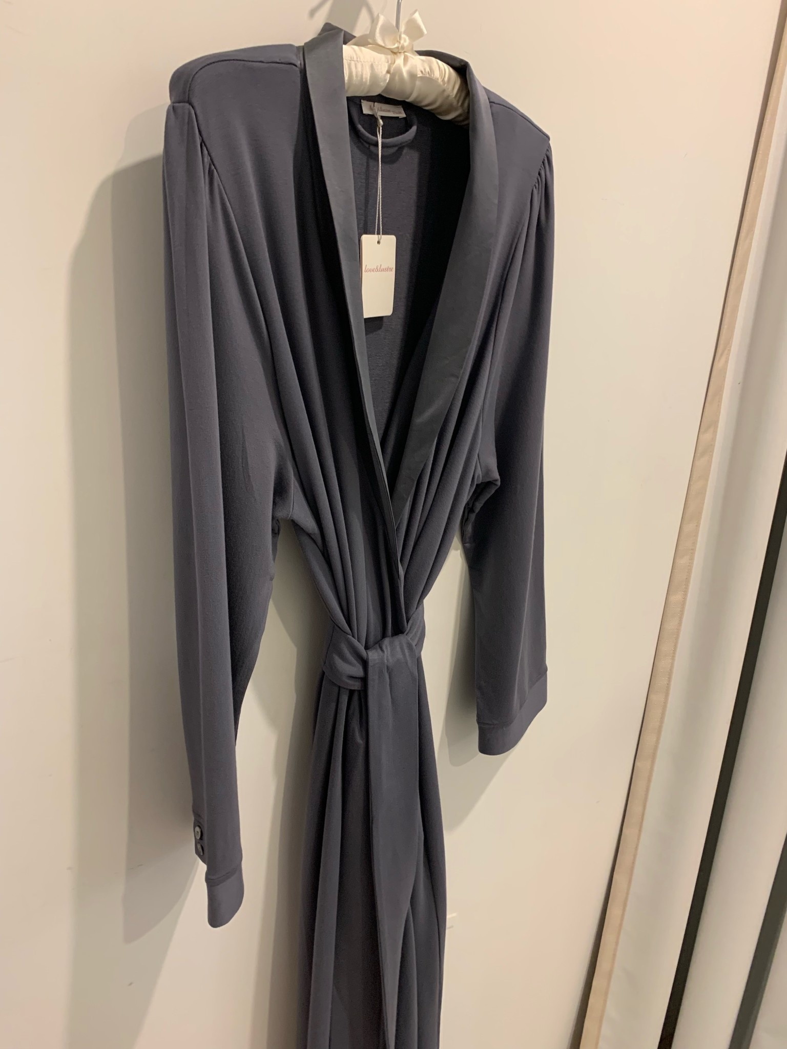 Love & Lustre Love&Lustre French Terry Robe LL641